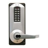 KABA E-PLEX E5086BWL-626-41 Electronic Locks,5000,Mortise,8-7/8 in.H