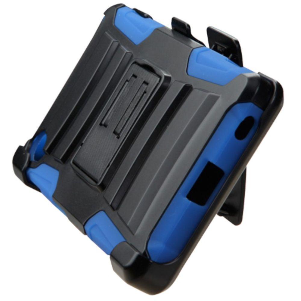 Sony Xperia Z5 Phone Case, Sony Xperia Z5 Case, by Insten Hard Hybrid Plastic Silicone Cover Case with Holster For Sony Xperia Z5 case cover - image 2 de 3