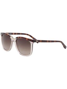 91e13667f25 Product Image Lacoste Women s L824S L 824 S 662 Rose Havana Fashion Square  Sunglasses 55mm