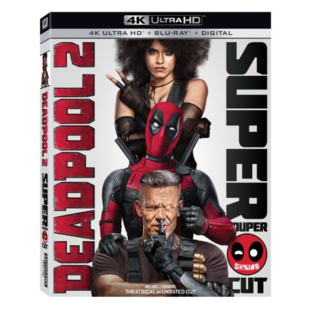 Deadpool 2 (4K Ultra HD + Blu-ray + Digital) - Deadpool Halloween Ryan Reynolds