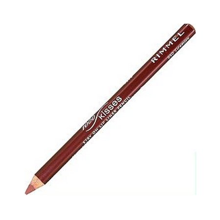 RIMMEL LONDON Lasting Finish 1000 Kisses Stay On Lip Liner Pencil - Tiramisu (6 Pack) - image 1 of 1