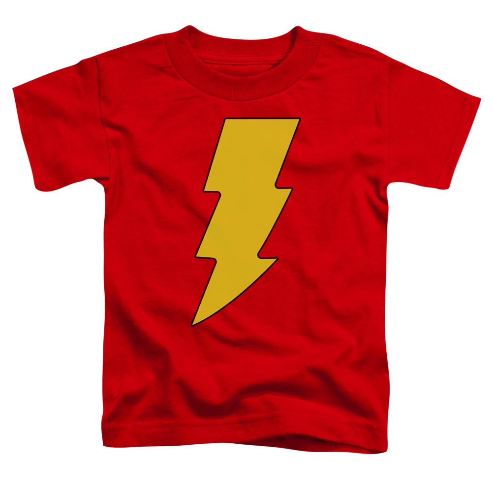 DC Comics Shazam Logo Little Boys Shirt