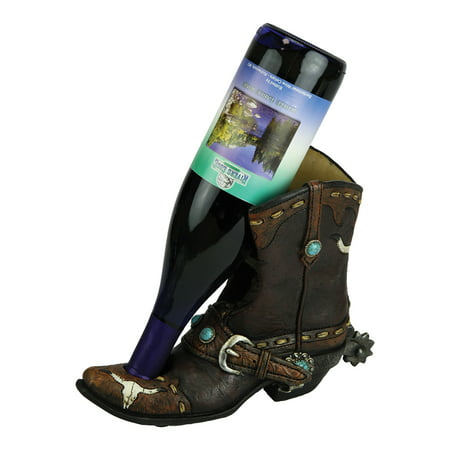 Rivers Edge Products Wine Bottle Holder Cowboy Boot