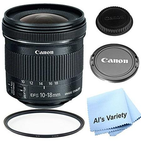 Canon EF-S 10-18mm f/4.5-5.6 IS STM Lens Kit For For Canon DSLR