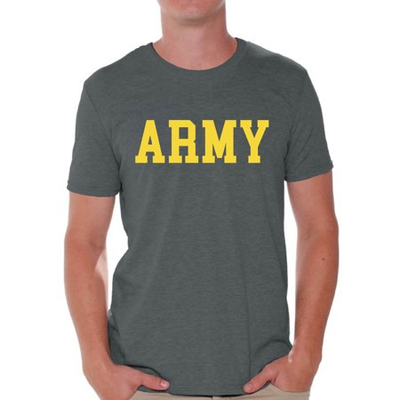 Awkward Styles Army Tshirt for Men Army Shirts Army T Shirt Military Shirt Army Training Shirt Army Workout Tshirt Military Gifts for Him Men's Fitness Shirt Men's Army Shirt Army Gifts Army Outfit](Army Outfit Men)