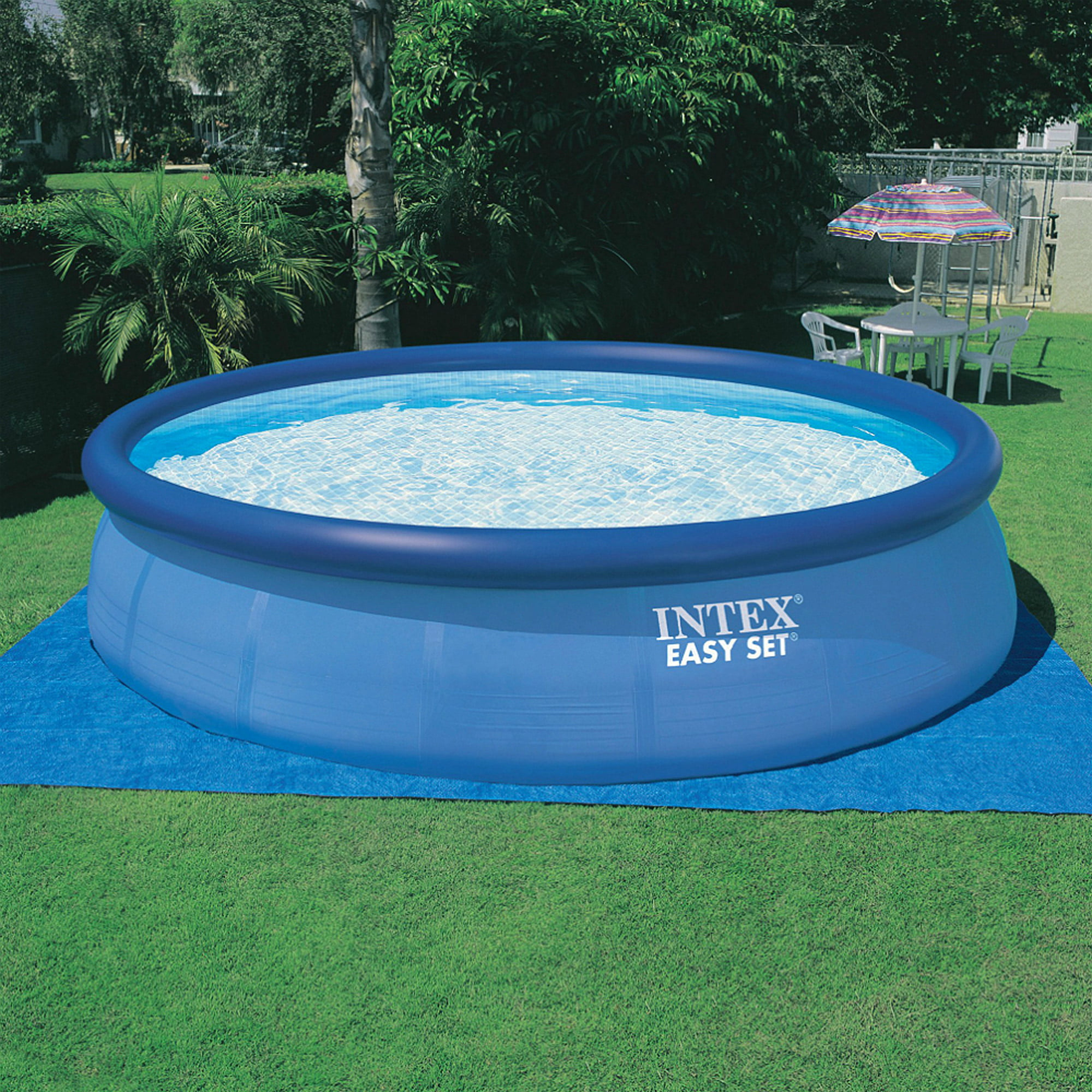 Intex X Easy Set Above Ground Swimming Pool With Filter