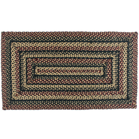 Primitive Braided Area Rugs Country Oval Rectangle 20x30 Up To 8x10