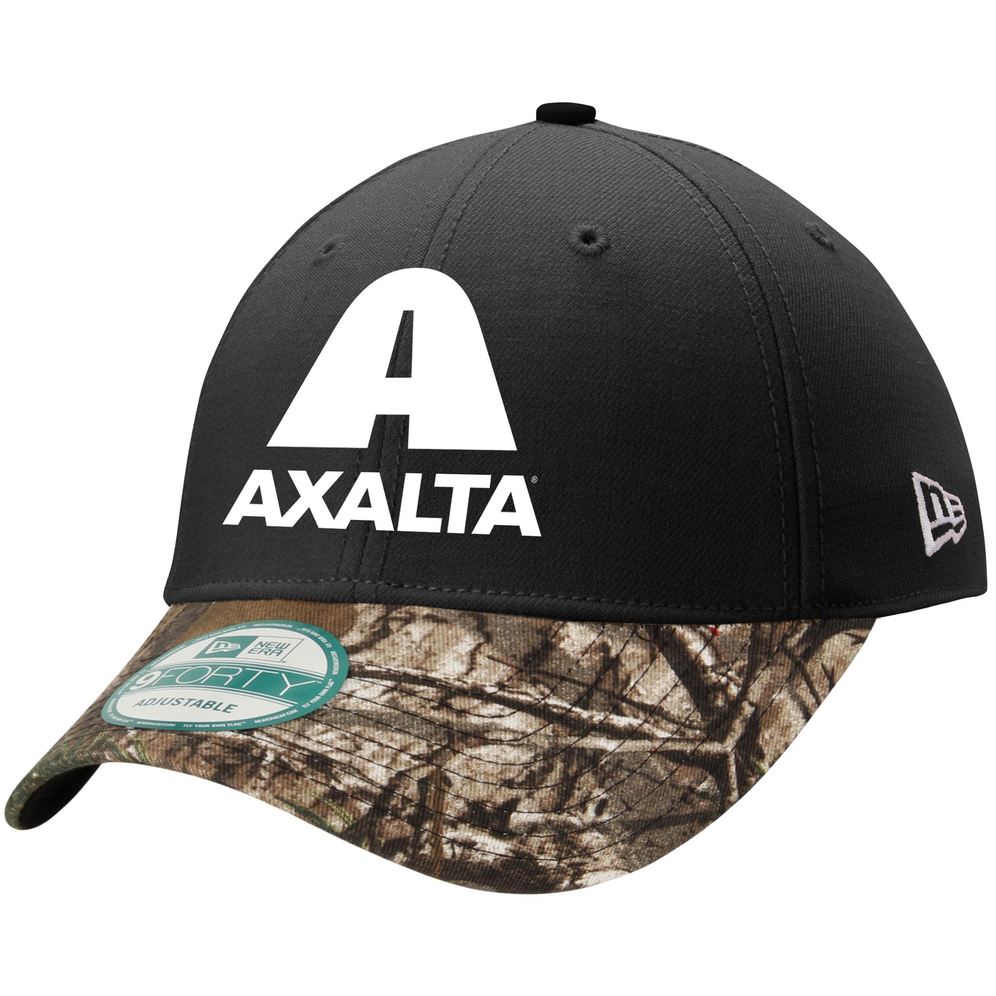Dale Earnhardt Jr. New Era Axalta Bristol True Timber 9FORTY Adjustable Hat - Black - OSFA
