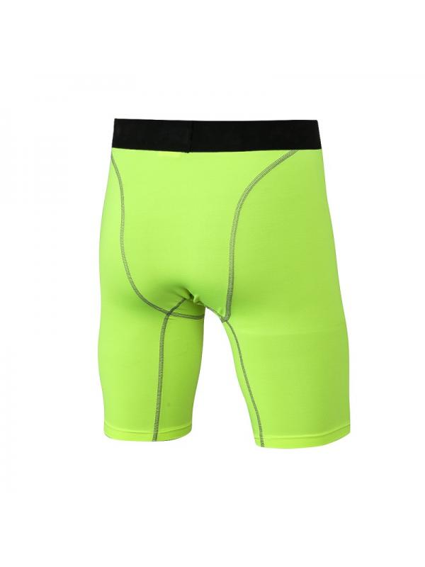 Ropalia Men Compression Tight Sports Running Pants Stretch Base Layer Shorts