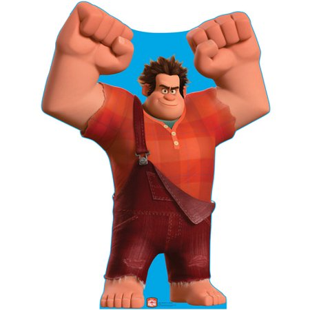 Disney Wreck-It Ralph Lifesize Standup Standee Cardboard Cutout Poster](Candyland Characters Cutouts)
