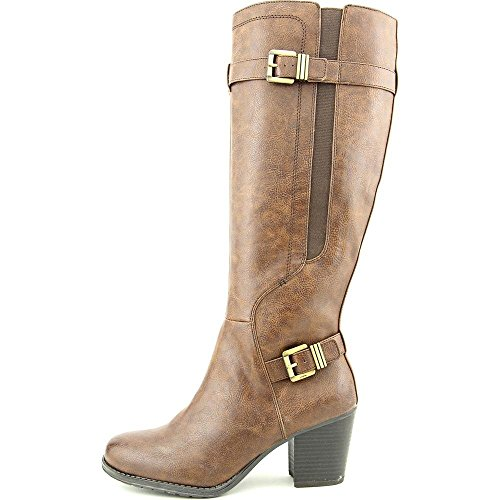 Naturalizer Womens Trebble Faux Leather Knee-High Riding Boots by Naturalizer