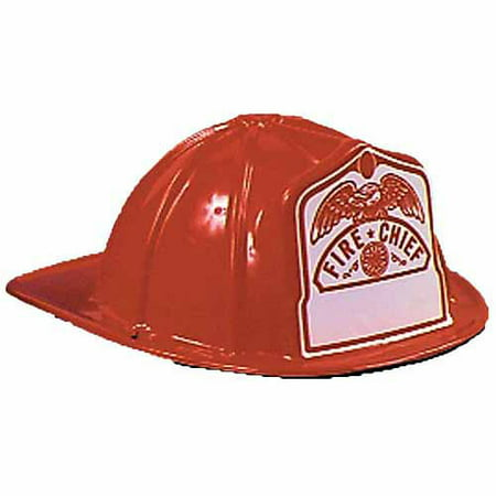 Black Fire Fighter Helmet Child Halloween Accessory