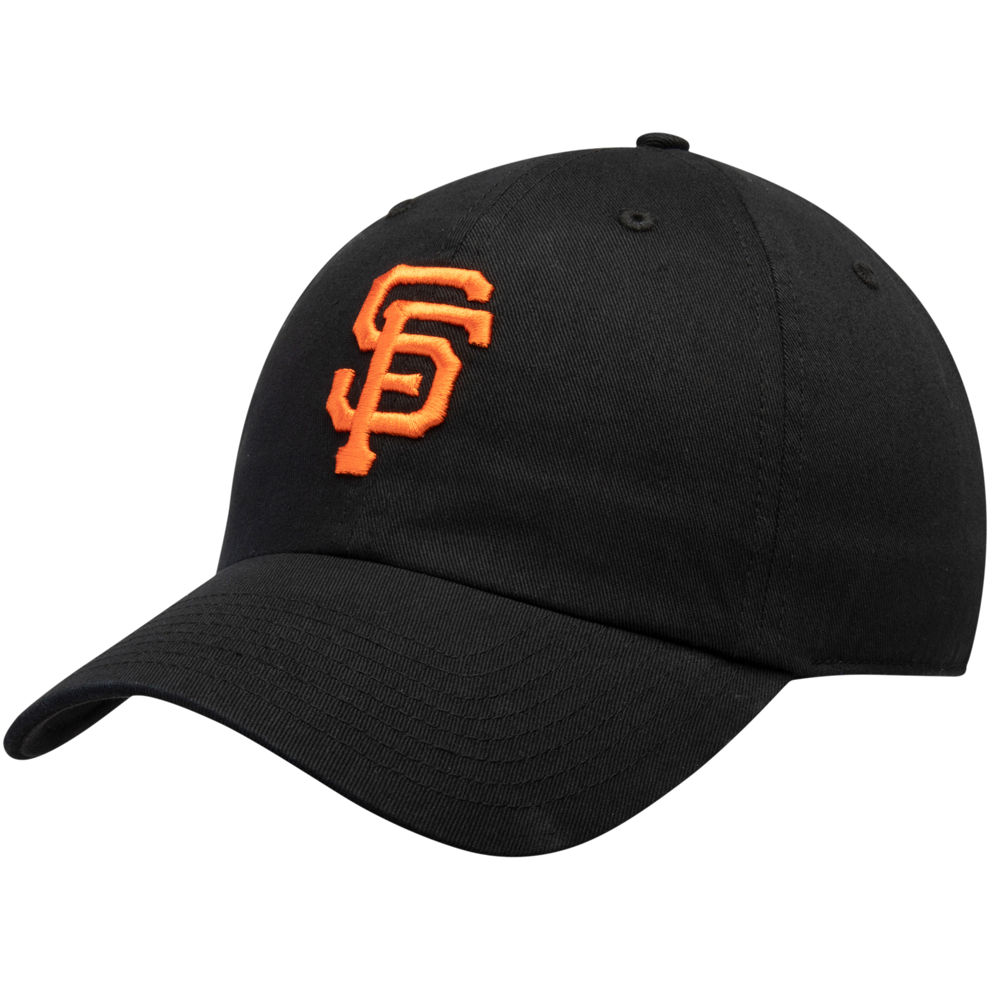 San Francisco Giants Fan Favorite Primary Logo Clean Up Adjustable Hat - Black - OSFA
