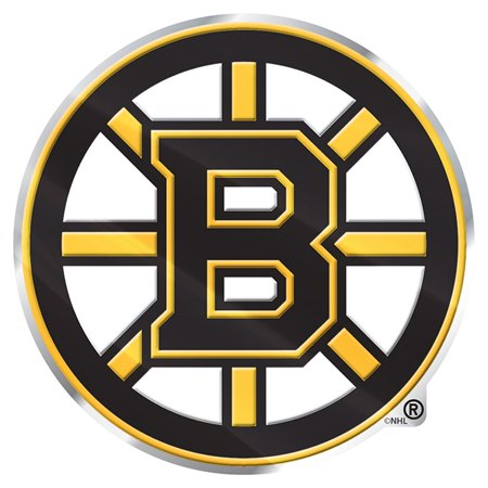 Boston Bruins Color Emblem 3 Car Team Decal - No Size