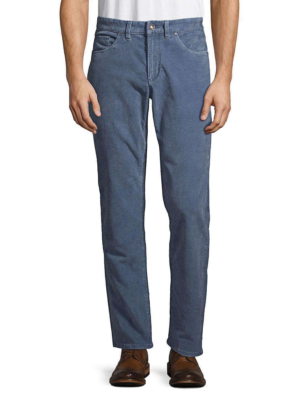 Uncut Corduroy Five-Pocket Pants