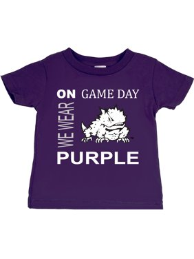 TCU Horned Frogs On Game Day Baby/Toddler T-Shirt