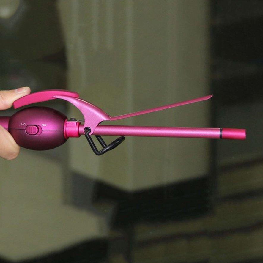 9mm Curling Iron Hair Curler Professional Ceramic Curling Hair Splint Roller