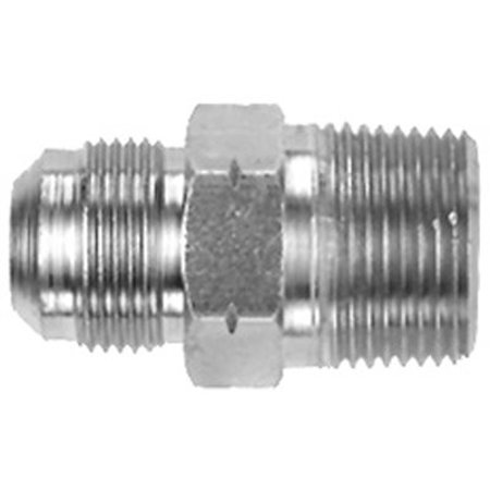 Image of STAINLESS STEEL GAS CONNECTOR ADAPTER 1/2 IN. MNPT X 5/8 MALE FLARE per 13 Each