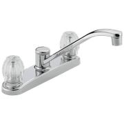 Two Handle Kitchen Faucet in Chrome P220LF