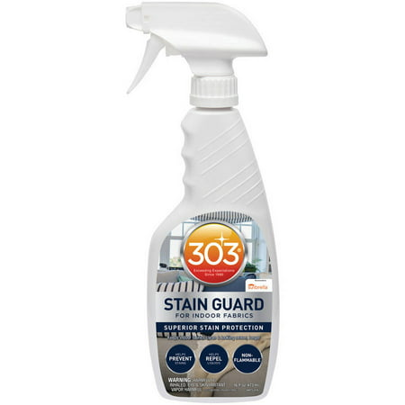 303 Indoor Fabric Protector and Stain Guard for Home Interior Fabrics, Cushions, Upholstery and Carpets, 16 fl. (Best Car Fabric Protector)