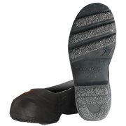 WINTER WALKING JD912-S Overshoes,Mens,S,Pull On,Blk,PVC,PR
