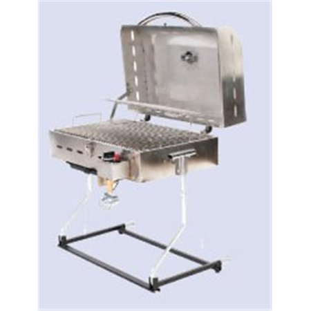 Barbecue Deluxe Gas Grills Stainless Steel (Gas Bbq Insert For Brick Built Bbqs)