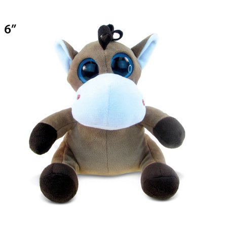 Big Eye Plush Horse