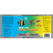 New Life Spectrum Tropical Fish Diet Fish Food Pellets, 2 2 kg