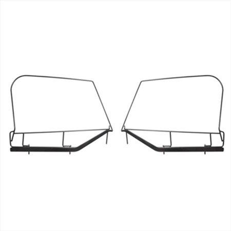 Upper Door Skin Frames, 97-06 Jeep Wrangler