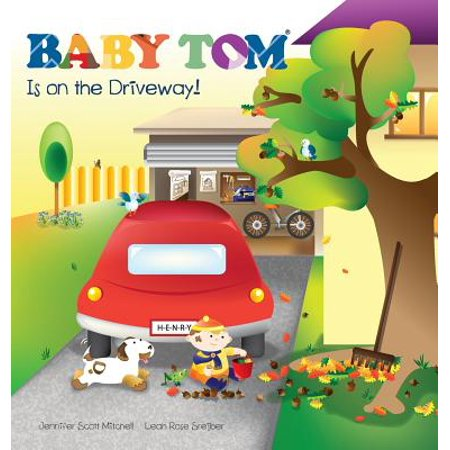 Baby Tom Is on the Driveway by