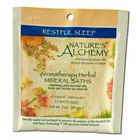 Natures Alchemy - Aromatherapy Mineral Baths, Restful Sleep 3 oz
