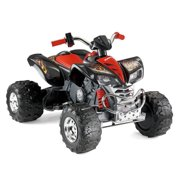 Power Wheels Kawasaki KFX Ninja Red 4-Wheel ATV 12V Electric Ride-On | X3416