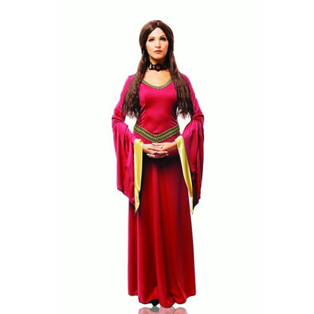 Halloween Costume Makeup Games (Red Witch Womens Adult Game Of Thrones Melisandre Halloween)