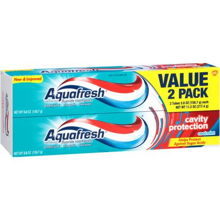 Aquafresh Multi-Active Mint Toothpaste Pump