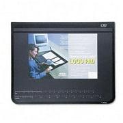 "Artistic Logo Desktop Organizer Pads - 24"" Width X 19"" Depth - Rubber Backing - Rubber, Plastic - Black (AOP41100)"