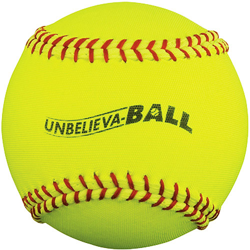 "MacGregor Unbelieva-BALL 11"" Softball, Yellow, 12-ct"