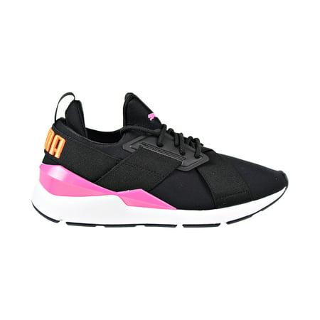 a01d0c2c0dc28 Puma Muse Chase Women s Shoes Puma Black Knockout Pink 367742-01