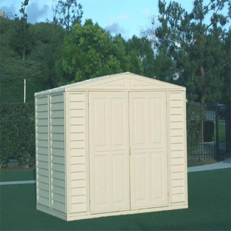 Metal Structured DuraMate Shed (8 ft. L x 5.5 ft. W)