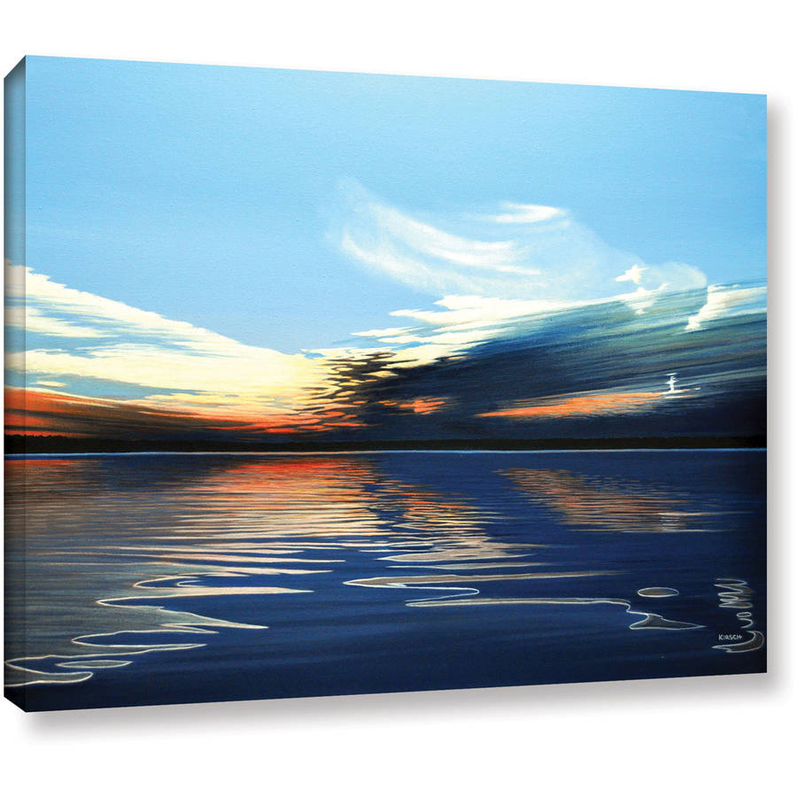 "ArtWall Ken Kirsch ""Quiet Reflections"" Wrapped Canvas"