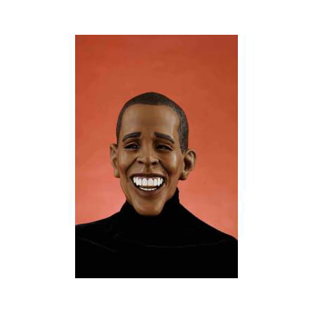 DELUXE BARACK OBAMA MASK](Halloween Mask Obama)