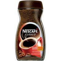 (2 Pack) NESCAFE CLASICO Dark Roast Instant Coffee 10.5 oz. Jar