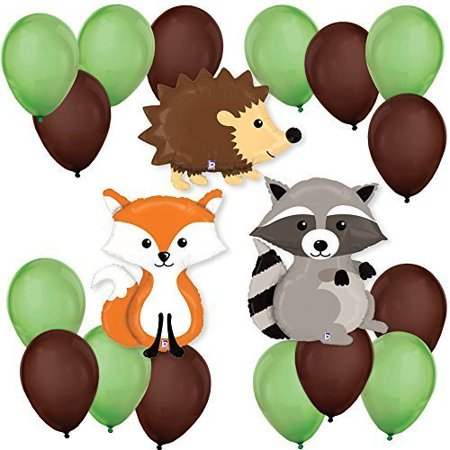 Woodland Creatures - Party Balloon Kit - Price Of Balloons