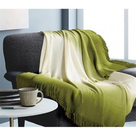 Team Tapestry Throw (Hallmart Collectibles 77110 50 x 60 in. Ombre Green Throw )