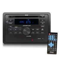 PYLE PLRVST400 - RV Wall Mount Audio/Video Receiver - AV Stereo Headunit with Wireless Bluetooth Streaming, CD/DVD Player, HDMI ARC, AUX/MP3/USB Reader