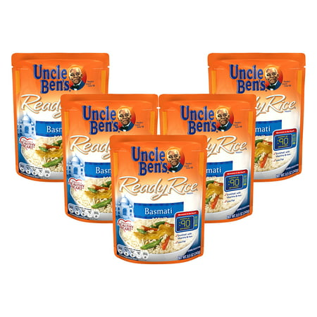 - (5 Pack) UNCLE BEN'S Ready Rice: Basmati, 8.5oz
