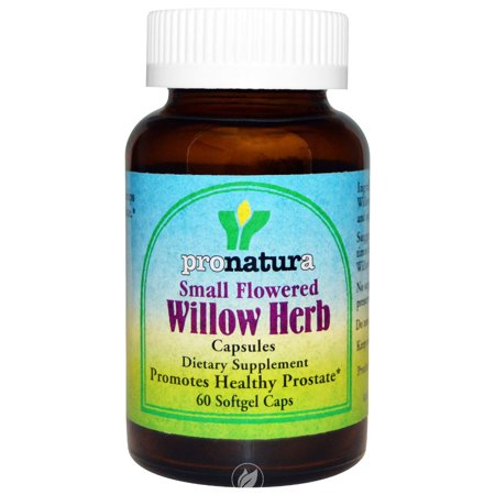 Pronatura Small Flowered Willow Herb 60 Softgel, Pack of (Small Flowered Willow Herb For Prostate Health)