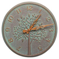 Whitehall Products Tree of Life 16-in. Indoor/Outdoor Wall Clock