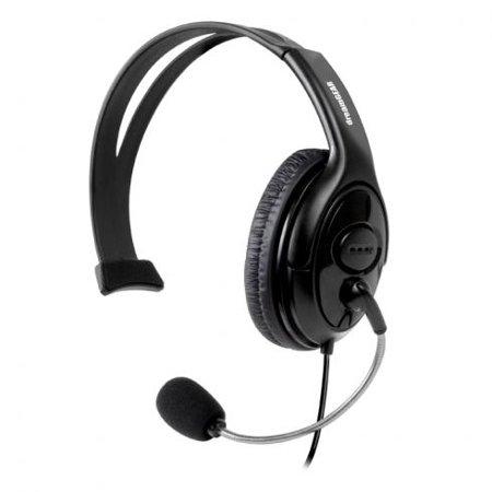XBox 360 X-Talk Solo wired headset w/mic - Walmart.com