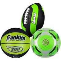 3-Pk. Franklin Sports Mini Ball Set