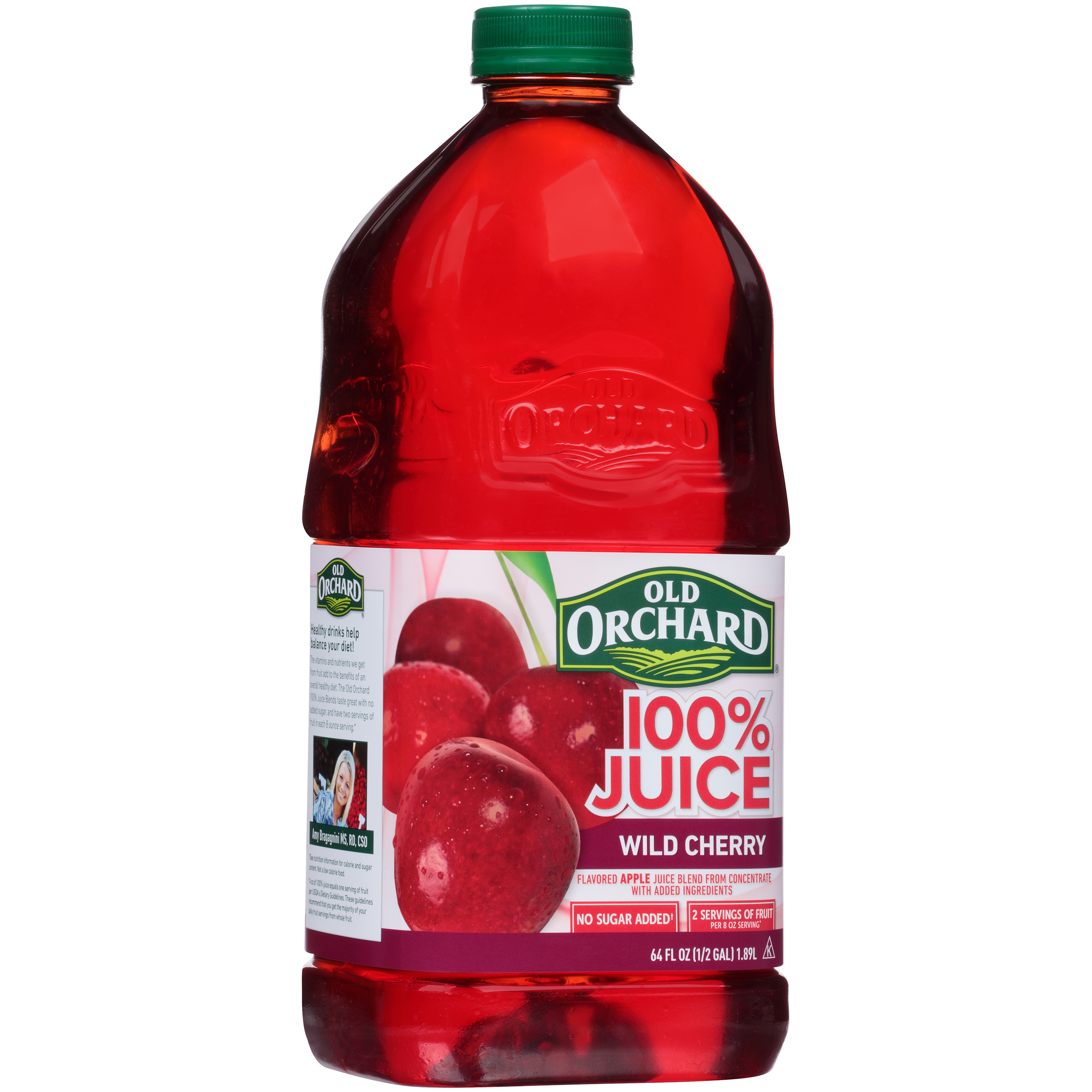 Old Orchard® 100% Juice Wild Cherry 64 fl. oz. Bottle